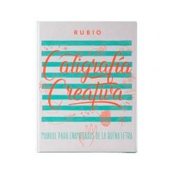 Libro de caligrafia rubio creativa 1 150 paginas tapa dura