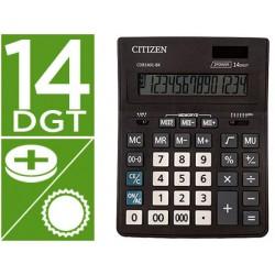 Calculadora citizen sobremesa business line eco eficiente solar