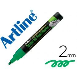 Rotulador artline pizarra verde negra epw-4 ve-gr color verde