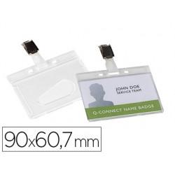 Identificador q-connect rigido plastico acabado brillante con