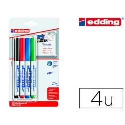 Rotulador edding para pizarra blanca 661 punta redonda 1-2 mm
