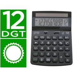 Calculadora citizen sobremesa eco ecc-310 12 digitos