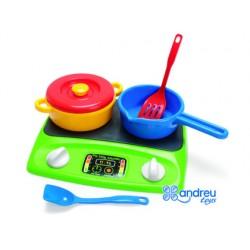 Juego dantoy cocina vitro 6 piezas 25x30x10 cm 68294-014245