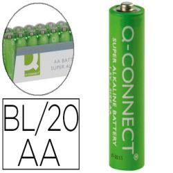 Pila q-connect alcalina aa -paquete con 20 pilas 68116-KF10848