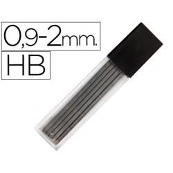 Minas liderpapel grafito rectangulares 2x0.9 mm hb tubo de 12
