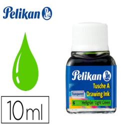 Tinta china pelikan verde claro n.6 frasco 10 ml 90206-201558