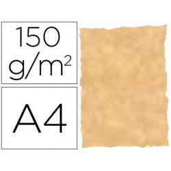 Papel pergamino din a4 troquelado 150 gr color parchment ocre