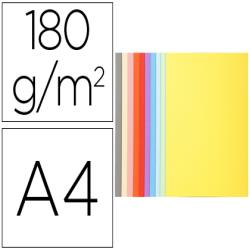 Subcarpeta cartulina reciclada exacompta din a4 10 colores