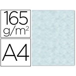 Papel color liderpapel pergamino con bordes a4 165g/m2 azul