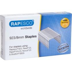 Grapas rapesco galvanizada 923/8 caja de 1000 unidades