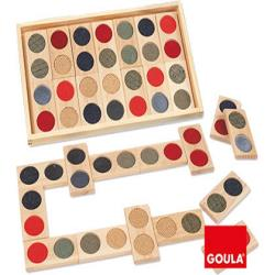 Juego goula didactico domino tactil 152377-50313