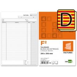 Talonario liderpapel facturas folio original y copia t223 con