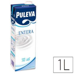 Leche entera puleva brik de 1 litro 78409-9887