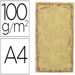 Papel pergamino liderpapel din a4 orla papiro 100 g/m2 paquete
