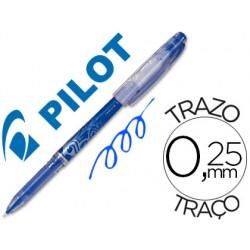 Boligrafo pilot frixion punta de aguja color azul 52086-NFPA