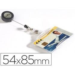Identificador con cordon extensible durable uso