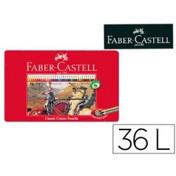 Lapices de colores faber castell caja metalica de 36 colores