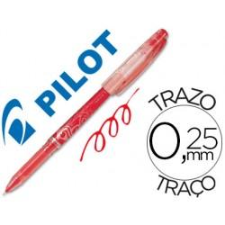 Boligrafo pilot frixion punta de aguja color rojo 52088-NFPR