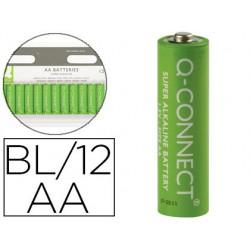 Pila q-connect alcalina aa -blister con 12 pilas 68115-KF00644