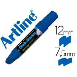 Rotulador artline pizarra verde negra epw-12 mm color azul