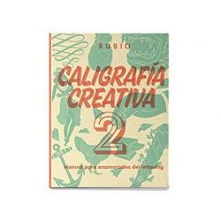 Libro de caligrafia rubio creativa 2 150 paginas tapa dura