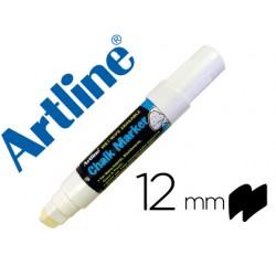 Rotulador artline pizarra verde negra epw-12 mm color blanco