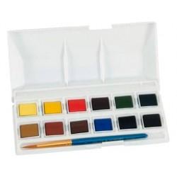 Acuarela daler rowney simply bolsillo caja de 12 colores