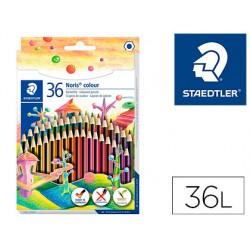 Lapices de colores staedtler wopex ecologico 36 colores en caja