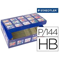 Lapices de grafito staedtler noris n 2 hb class pack de 144