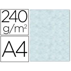 Papel color liderpapel pergamino con bordes a4 240g/m2 azul