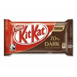 Kit kat nestle dark 70% cacao paquete de 4 barritas