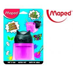 Limpiador de pinceles maped color peps 2 compartimentos