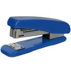 Grapadora q-connect kf11064 plastico azul -capacidad 25 hojas