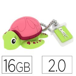 Memoria usb emtec flash 16 gb 2.0 tortuga 154056-ECMMD16GM335