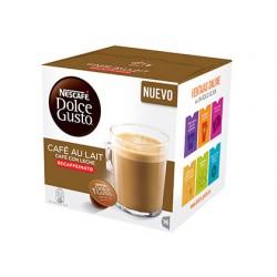 Cafe dolce gusto cafe con leche descafeinado monodosis caja de