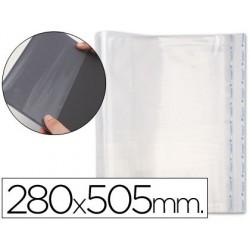 Forralibro pp ajustable adhesivo 280x505 mm 52100-02010 (01198)