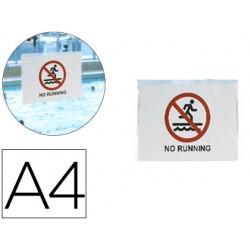 Funda autoadhesiva 3l office resistente al agua din a4 pack de