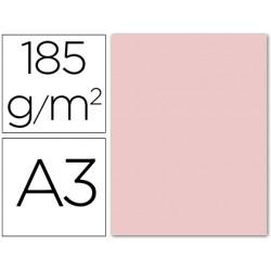 Cartulina guarro din a3 rosa 185 gr paquete 50 h 54765-200040189