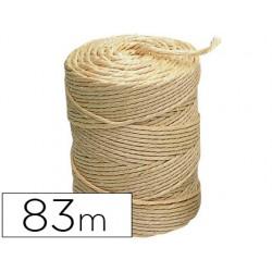 Cuerda sisal 3 cabos liderpapel rollo 1/2 kg 59430-CU01