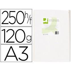 Papel fotocopiadora q-connect ultra white din a3 120 gramos