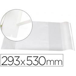 Forralibro liderpapel nº29 con solapa ajustable adhesivo 293 x