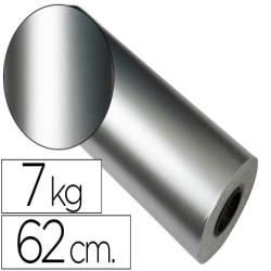Papel fantasia verjurado star plata 7090 bobina 31 cm 3,5 kg