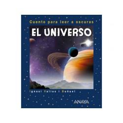 Libro anaya el universo para leer a oscuras tapa cartone 24