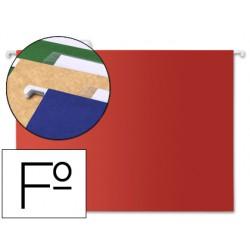 Carpeta colgante liderpapel folio roja 42814-SF10