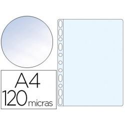 Funda multitaladro q-connect folio 120 mc cristal caja de 100