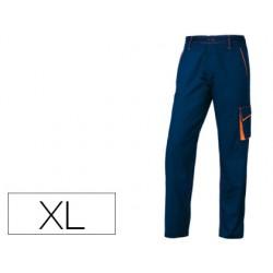 Pantalon de trabajo deltaplus cintura ajustable 5 bolsillos