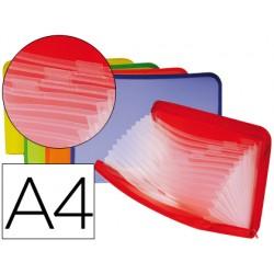 Carpeta beautone clasificador fuelle polipropileno din a4 13