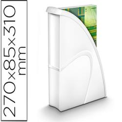 Revistero cep plastico uso vertical / horizontal blanco