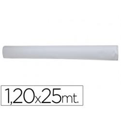 Mantel blanco en rollo 1,20x25 m 49273-4051