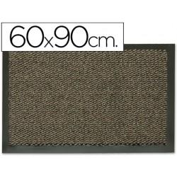 Alfombra fast-paperflow antipolvo gris basic 60x90 cm